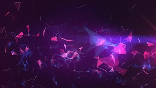 Cosmic Web Purple