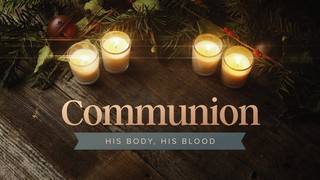 Cozy Advent Communion