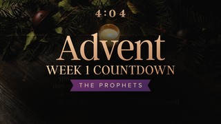 Cozy Advent Week 1 Countdown