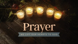 Cozy Advent Prayer