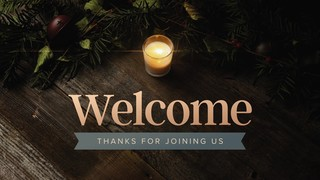Cozy Advent Welcome