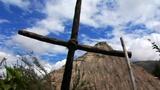 Cross And Hut