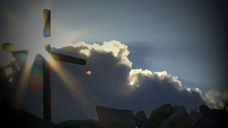 Cross And Sunburst