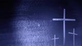 Crosses On Blue