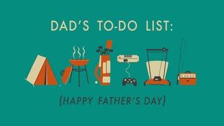 Dads List Title