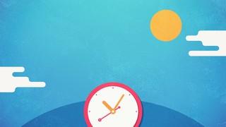 Daylight Savings Clocks Blank