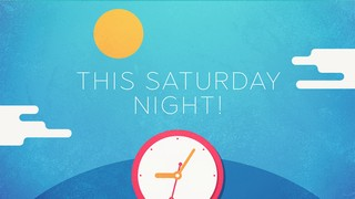 Spring Forward Saturday