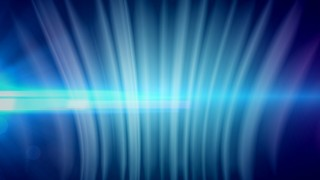 Digital Curtain Blue Curve