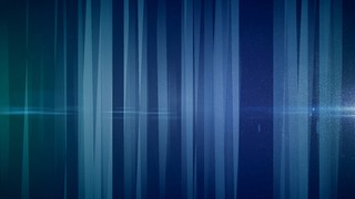 Digital Curtain Blue Static