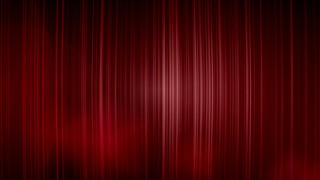 Digital Curtain Red Drape