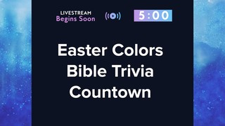 Easter Colors Extra Trivia Countdown