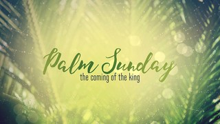 Easter Week Palm Sunday