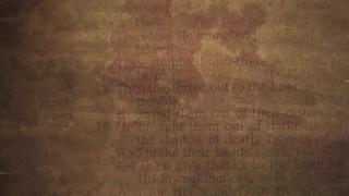 Faded Text Parchment