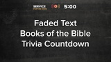 Faded Text Trivia Countdown