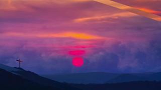 Faith Hope Sunset