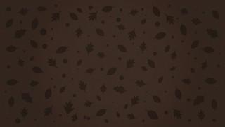 Fall Fest Brown Leaf