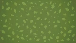 Fall Fest Green Leaves