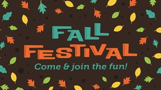 Fall Fest Sermon Series