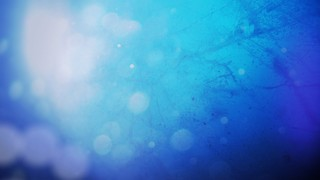 Flare on Blue