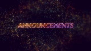 Focus Announcements
