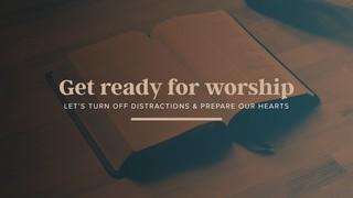 Get Ready Sermon