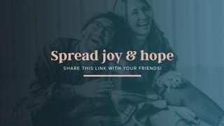 Spread Joy Sermon
