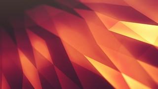 Geo Surface Orange