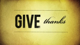 Give Thanks Parchment