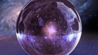 Glass Galaxy Marble