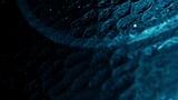 Glass Surface Blue Sphere (Stills)