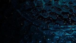 Glass Surface Blue Texture
