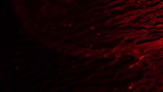 Glass Surface Red Mottled