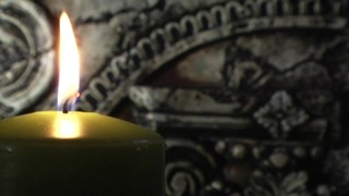 Green Candle Stone