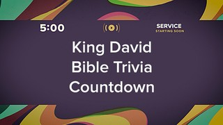 Groovy David Trivia Countdown