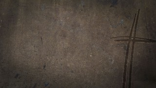 Grungy Concrete Cross