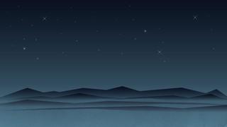 Holy Night Desert
