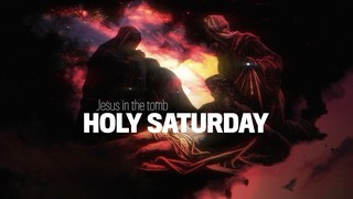 Holy Week Art Holy Saturday