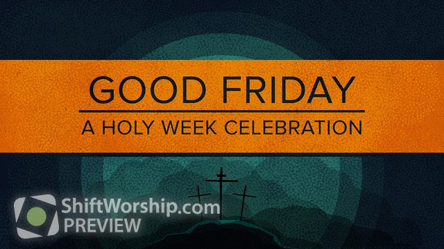 Preview of Holy Week Friday Title