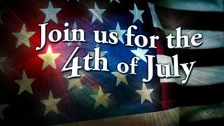 Join Us On The 4th