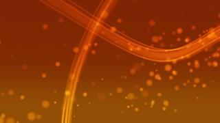 Light Streaks Orange