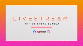 Livestream Sundays Sermon