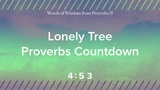 Lonely Tree Proverbs 17 Wisdom Countdown