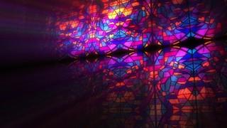 Modern Glass Colorful
