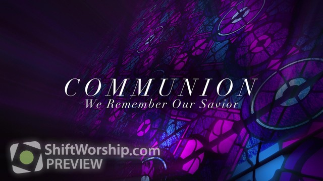 Preview of Modern Glass Communion