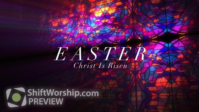 Preview of Modern Glass Easter