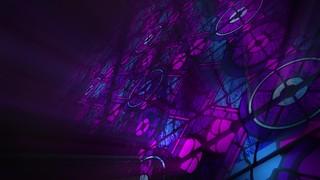 Modern Glass Purple