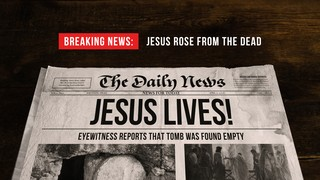 Breaking Newspaper Sermon