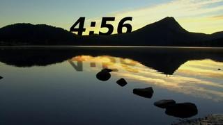 Mountain Sunrise Countdown