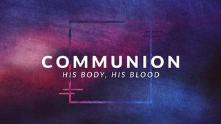 Muted Colors Communion