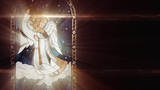 Nativity Glass Angel